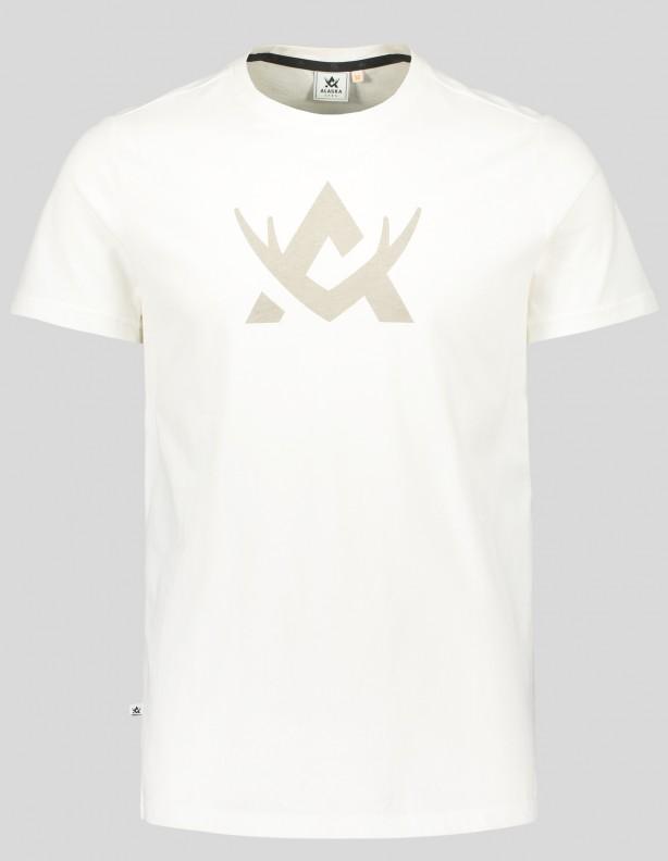 Hunter white - bawełniana koszulka Alaska