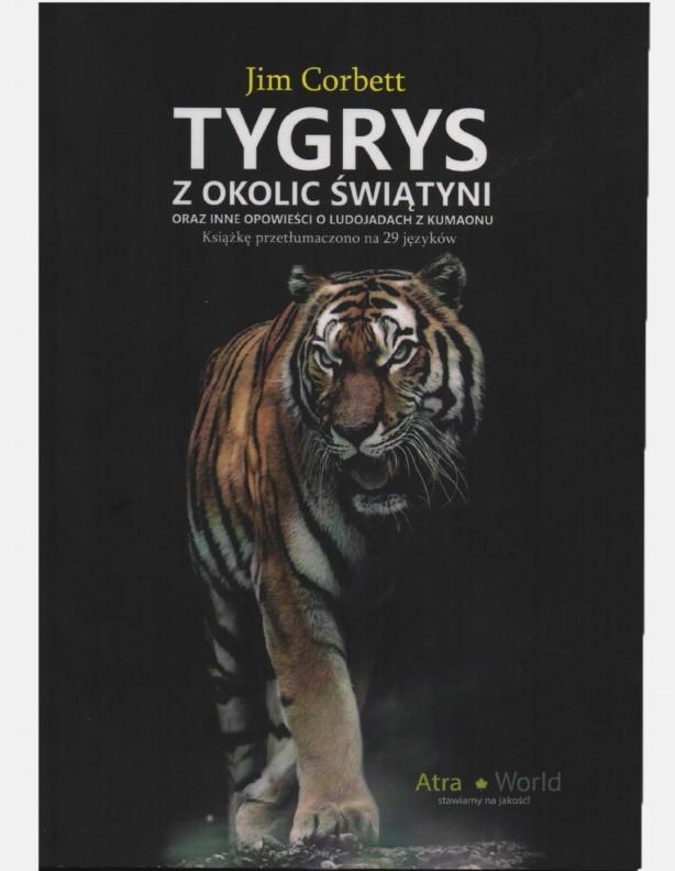 Tygrys z okolic świątyni - Jim Corbert