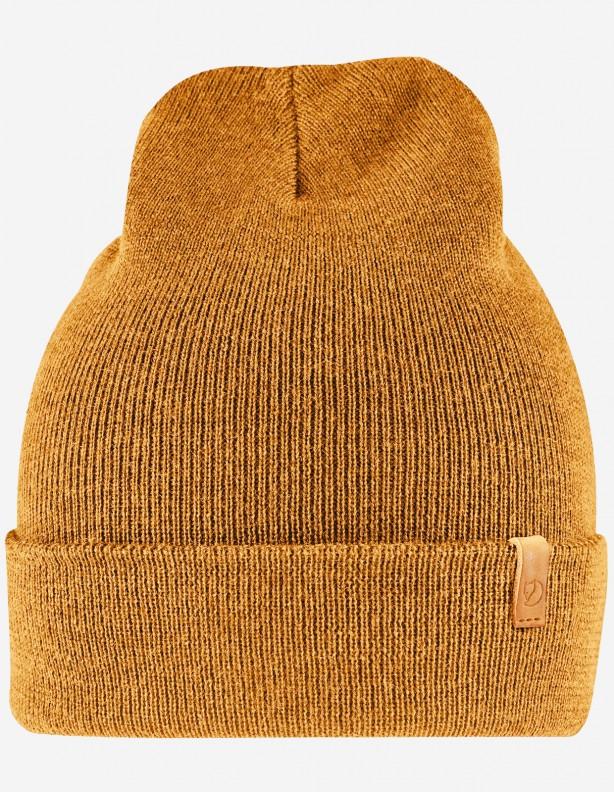 Classic Knit acorn - czapka wełniana Fjallraven 100% wełna
