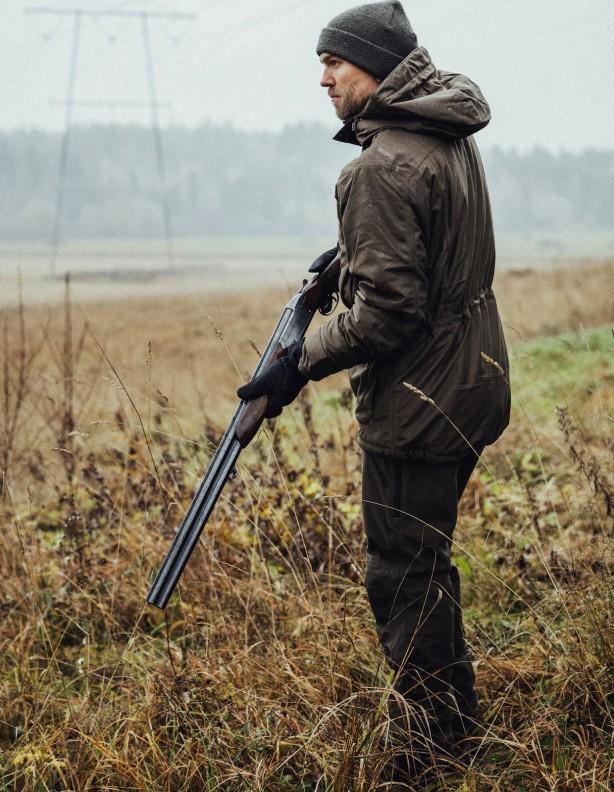 Tundra olive - lekko ocieplany zestaw Alaska membrana Rain-Stop®