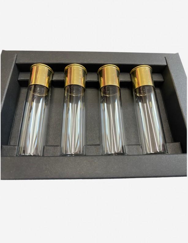 Szklane fiolki 15 ml 4 szt
