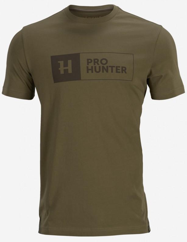 Pro Hunter green - koszulka letnia 100% bawełna
