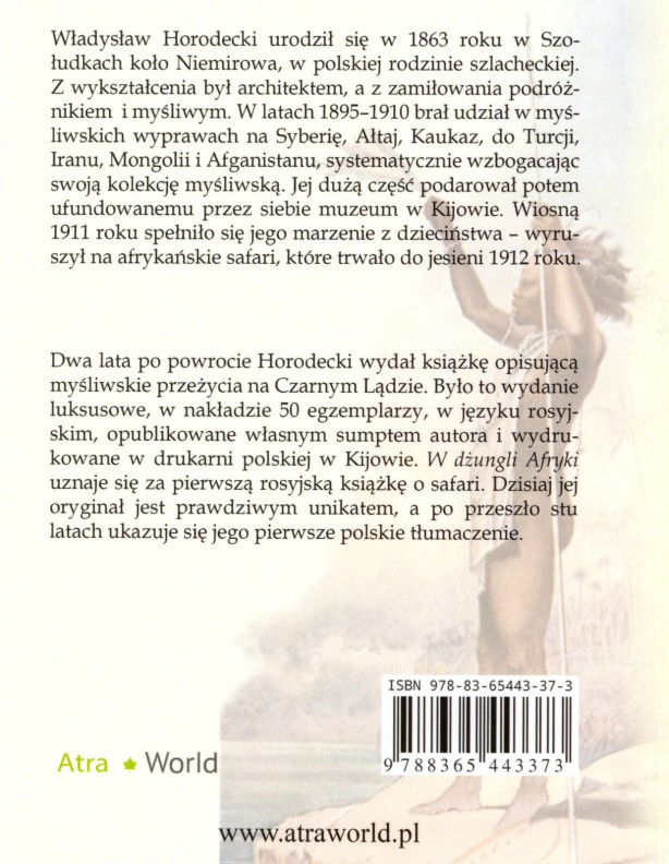 Książka w Dżungli Afryki - Dziennik myśliwego