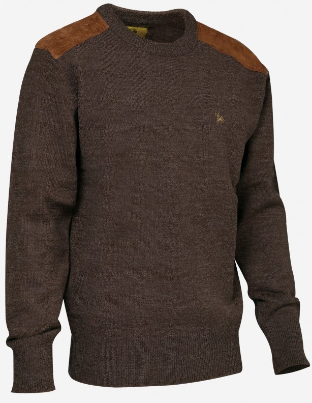 Sweter Fox z myśliwym - 30% wełna