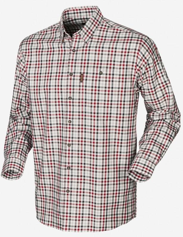 Milford jester red check - bawełniana koszula Easy iron ROZM L