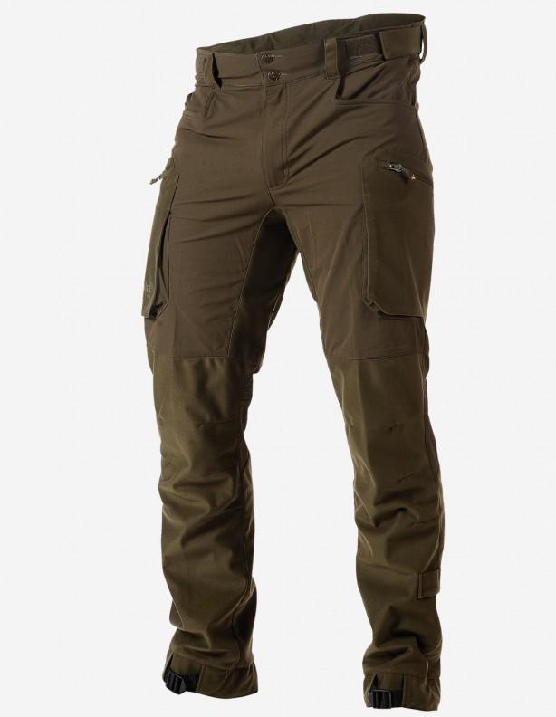 Vapor olive - lekkie spodnie częściowa membrana Rain-Stop®
