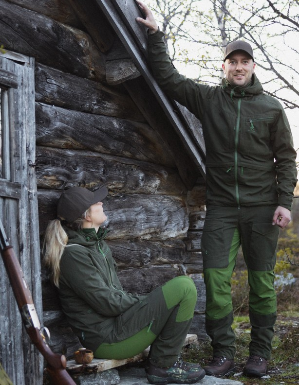 Ranger green - mocne letnie spodnie bez membrany
