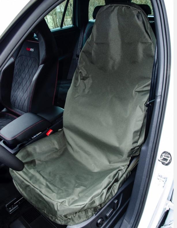 Pokrowiec na siedzenie samochodowe zielony