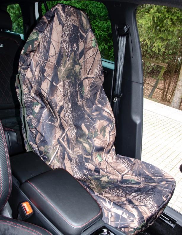Pokrowiec na siedzenie samochodowe camo