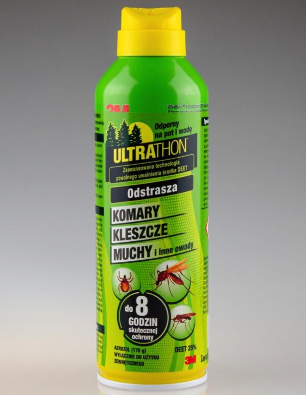 ULTRATHON środek na komary i insekty - aerozol 25% DEET