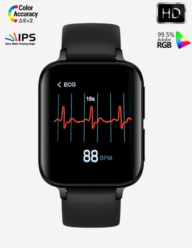 Zegarek EKG S7HD Kenys czarny