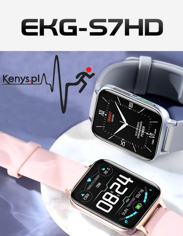 Zegarek EKG S7HD Kenys szary