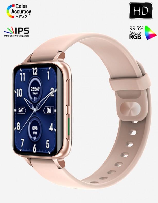 Zegarek EKG S&HD Kenys różowy