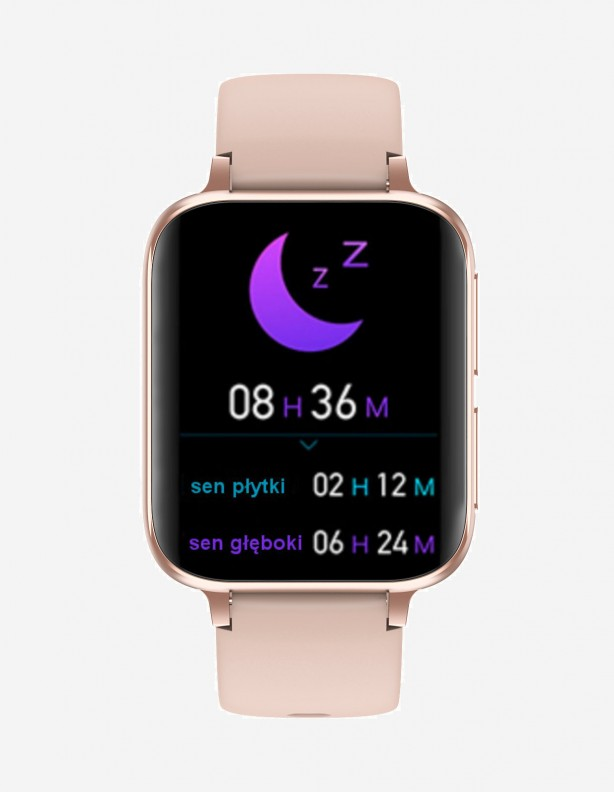 Zegarek EKG S8 HD Kenys różowy