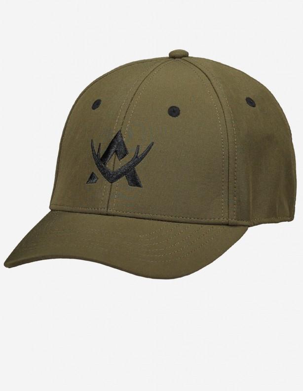 Hunter Green - czapka z daszkiem Alaska