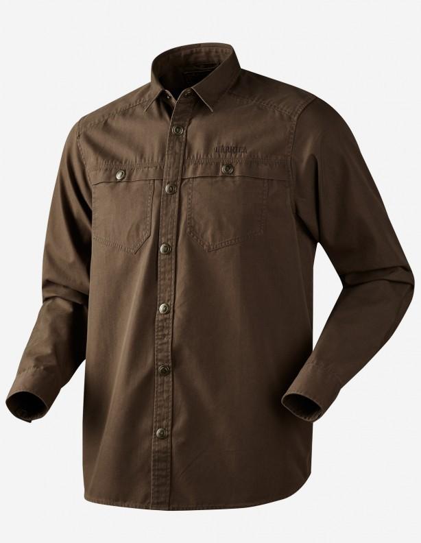 Pro Hunter brown - koszula z grubej bawełny TYLKO ROZM L