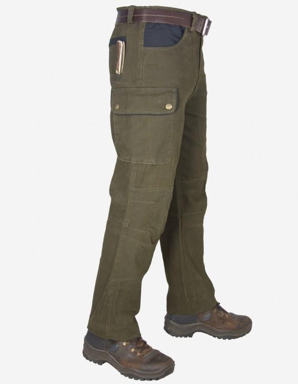 Spodnie Canvas - z grubego bawełnianego płótna do rozm 68!