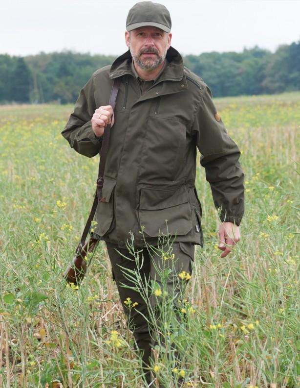 Hubertus kurtka myśliwska z systemem przeciw komarom BuzzX duże rozmiary!