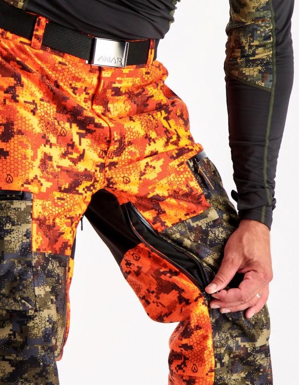Hirvas safety camo - spodnie całoroczne membrana ADS