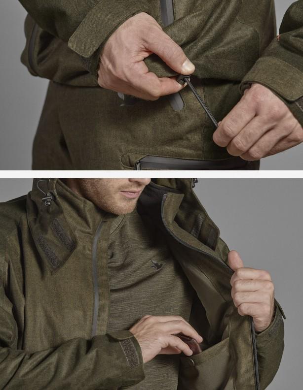 Avail green - kurtka całoroczna membrana Seetex®
