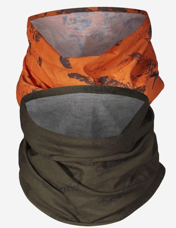 Seeland bandana 2-pak / ocieplacz na szyję orange blaze