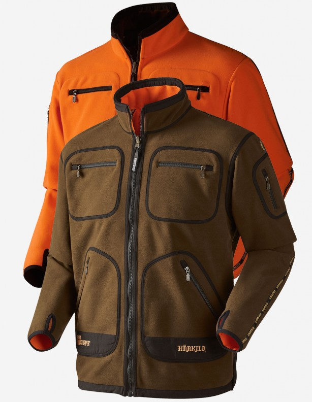 Kamko green/orange - dwustronny polar Windstopper® DO 5XL!