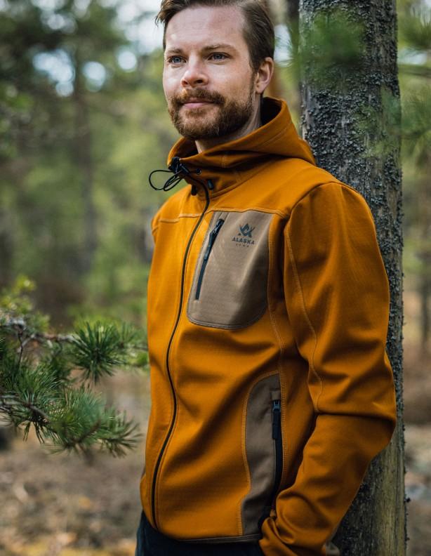 Sniper - cienka elastyczna letnia Alaska bluza rusty orange