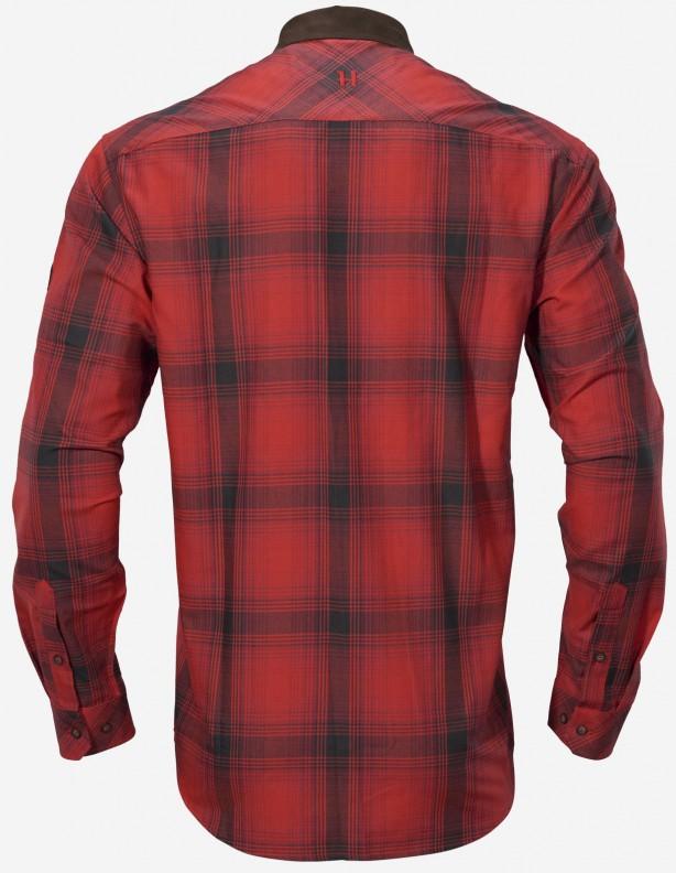 Koszula myśliwska Harkila Driven Hunt flanelowa red/black check