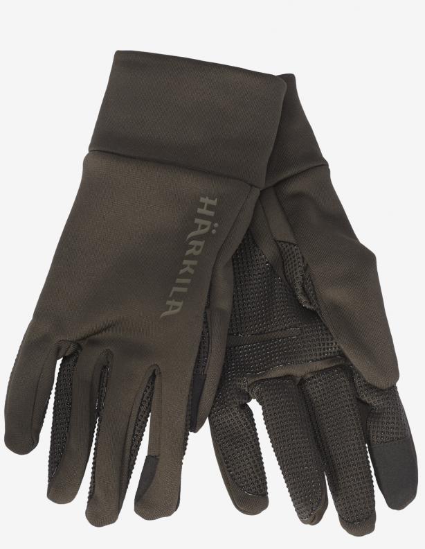 Rękawiczki Power Stretch Harkila shadow brown