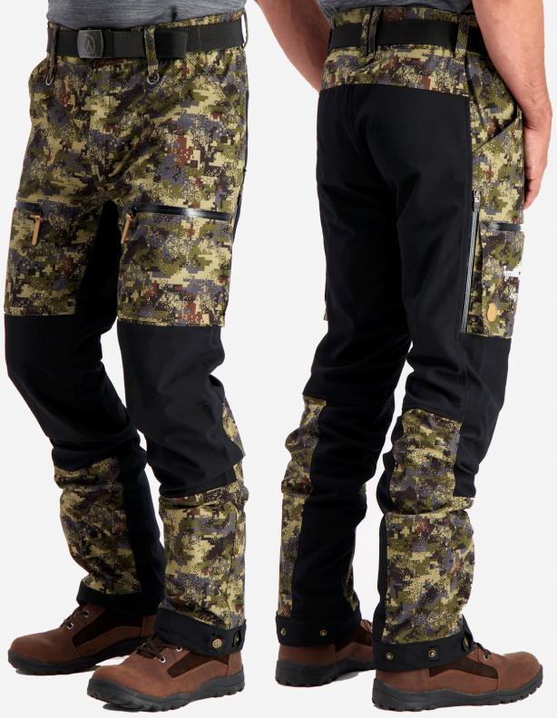 Suohtas DigiCamo - spodnie softshellowe z membraną ADS®