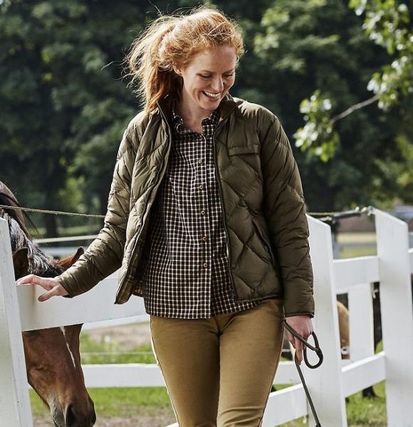 Berghem Lady - ocieplana kurtka w klasycznym stylu