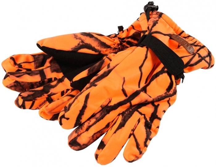 Zimowe rękawice Newis kamuflaż Safety Camo