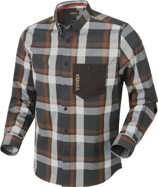 Amlet spice check - cienka koszula z długim rękawem