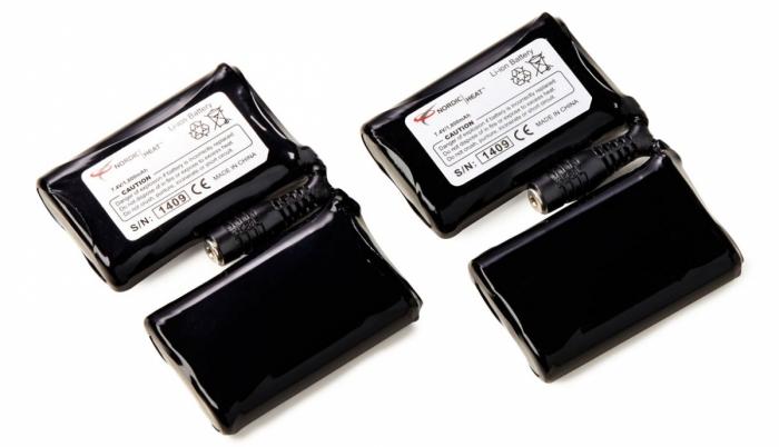 Zapasowe akumulatory do rękawiczek grzejących Nordic Heat