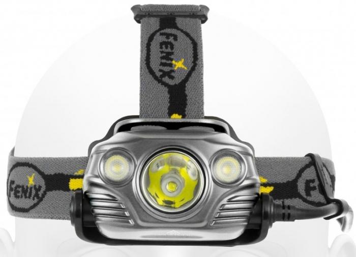 Latarka diodowa, czołowa Fenix HP30R - 1000 lumenów