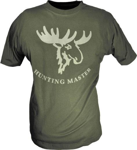 Hunting Master - bawełniana koszulka z łosiem ROZM 6XL