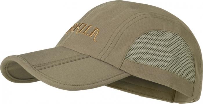 Herlet Tech khaki - lekka czapka z regulacją obwodu