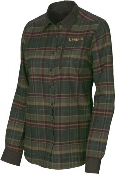 Pajala Lady rosin check - ciepła koszula z flaneli
