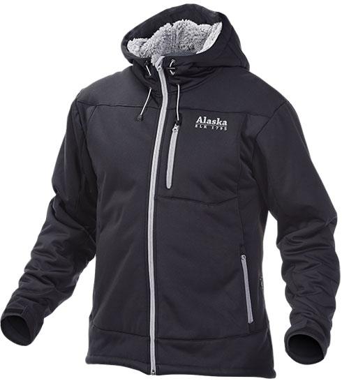 Glacier softhell black - ocieplana kurtka Alaska ROZMIAR XL, 3XL