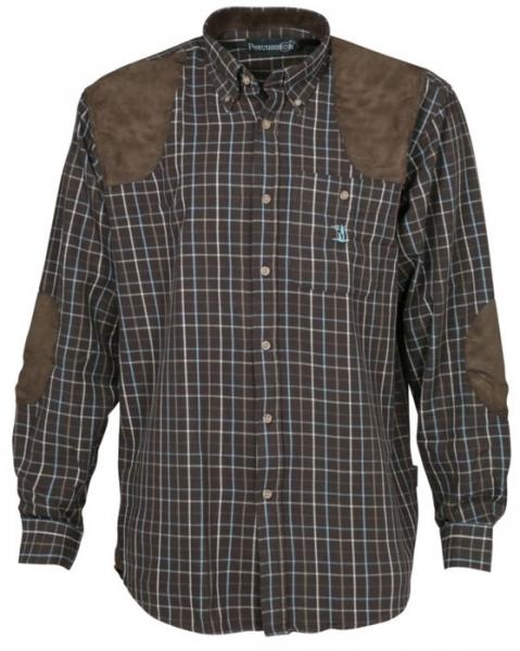 Sologne - bawełniana koszula wzmocnienia na ramionach