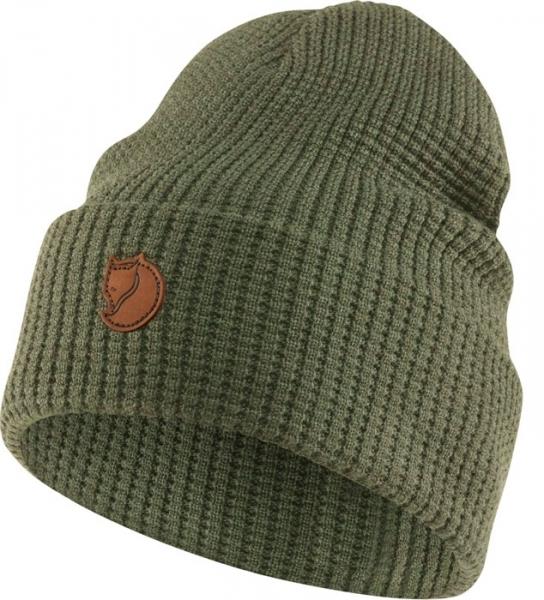 Merino Structure hat green - ciepła wełniana czapka