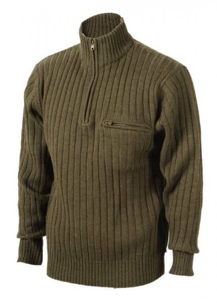 FOREST - sweter z dzianiny i wełny TYLKO ROZMIAR 46