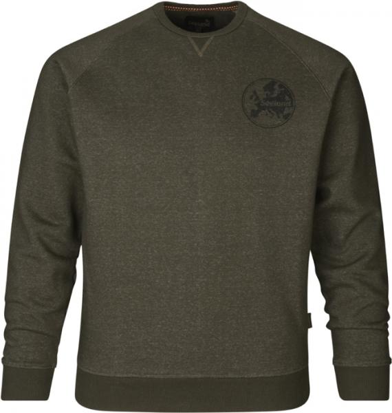 Key-Point sweatshirt pine green - ciepła bluza do 5XL!