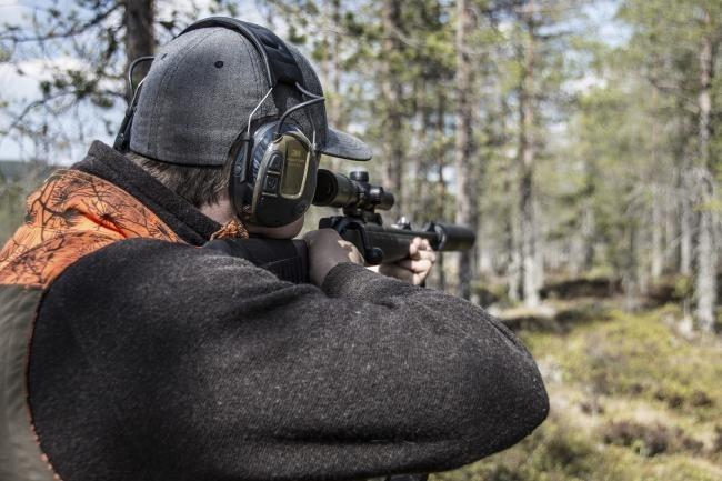 Ochronnik słuchu aktywny Pro Tac Hunter Peltor