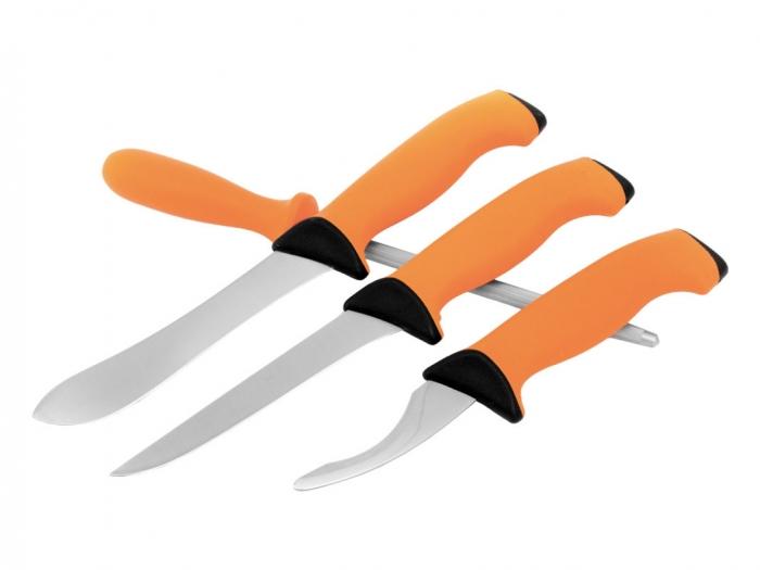 Zestaw noży z ostrzałką Eka Butcher Set