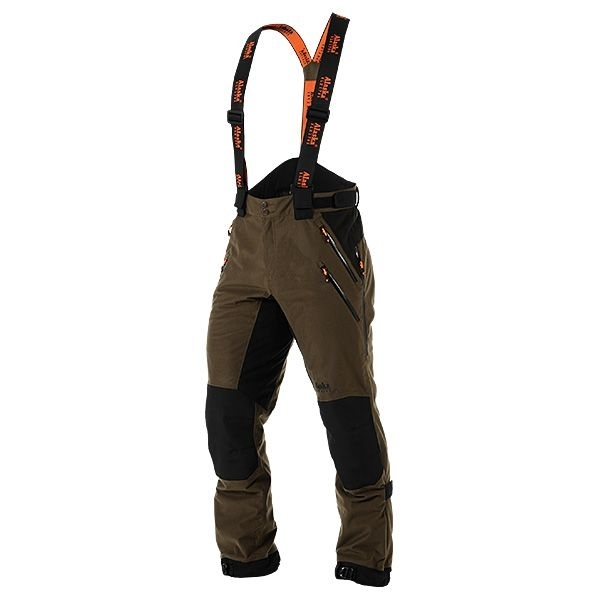 Predator - spodnie całoroczne z szelkami membrana Rain-Stop®
