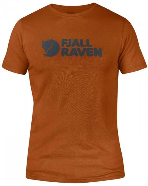 Logo t-shirt flame orange - koszulka fjallraven