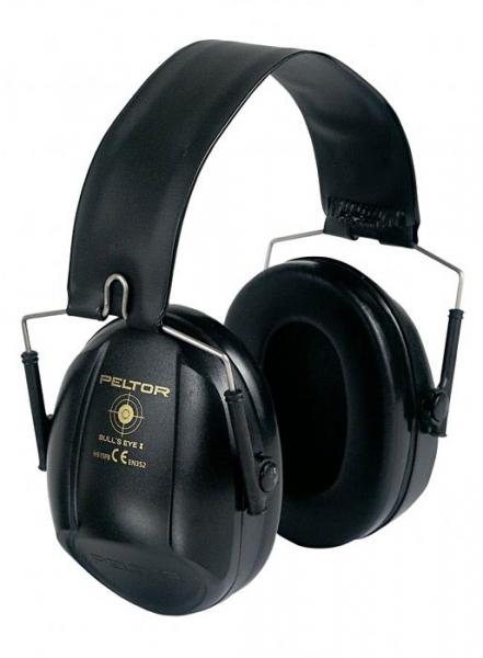 Ochronnik słuchu Bull's Eye I czarne (H515FB)