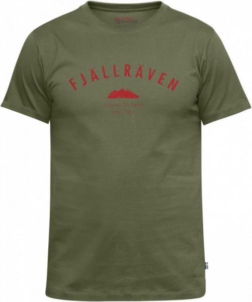 Trekking Equipment Green - bawełniany t-shirt ROZMIAR M