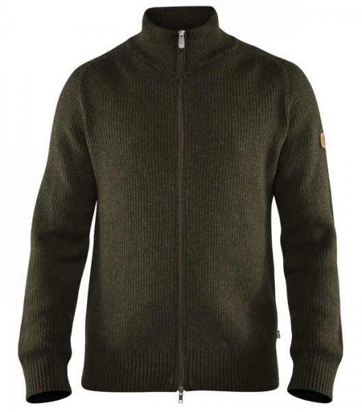 Greenland Re-Wool cardigan M - sweter rozpinany 70% wełna